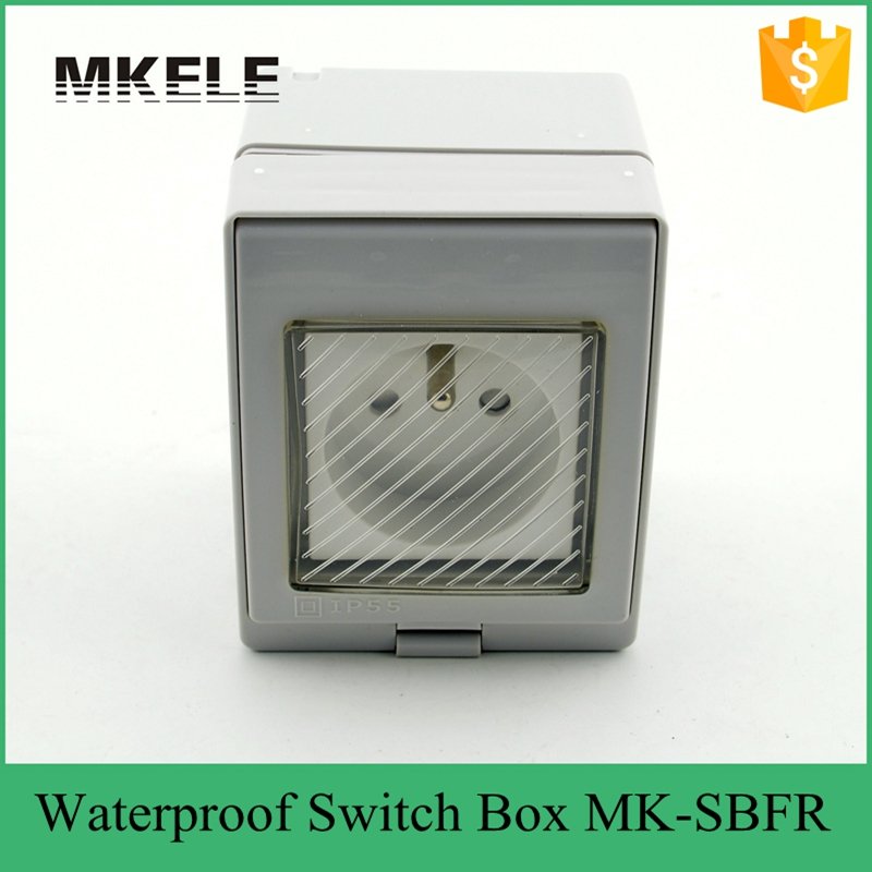 Pvc Material Low Price Electrical Wall Switch Box